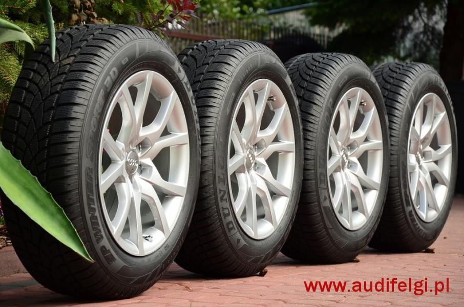 Koła Zimowe Audi Q5 18 Nowe 2017r Audifelgipl