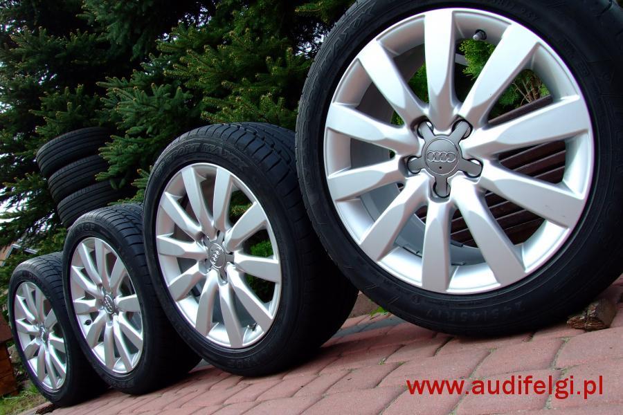 Oryginał Audi A4 B8 8k0 17 Audifelgipl