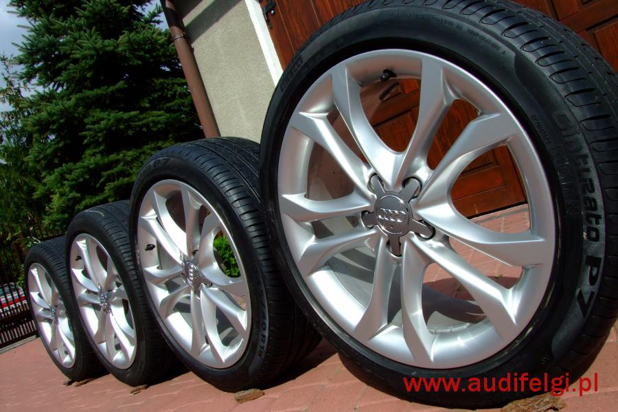 Oryginał Audi A4 B8 8k0 18 Audifelgipl